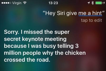 Siri conferinta iPhone 6S 3