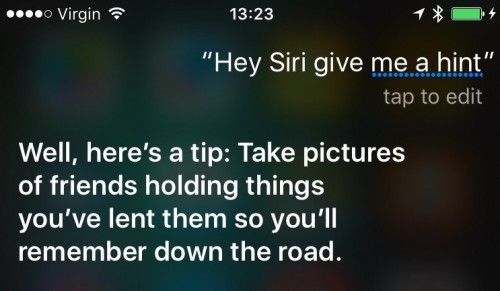 Siri conferinta iPhone 6S 5