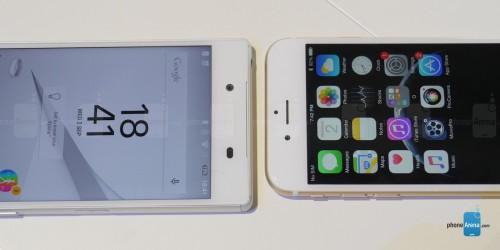 Sony Xperia Z5 vs iPhone 6 1
