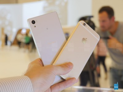 Sony Xperia Z5 vs iPhone 6 11