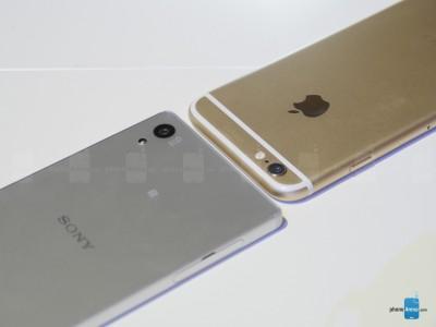 Sony Xperia Z5 vs iPhone 6 2