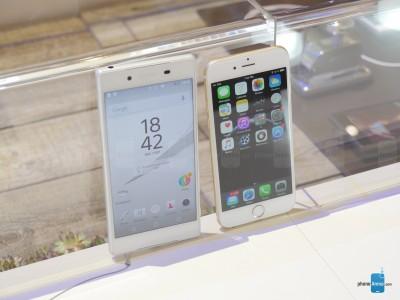 Sony Xperia Z5 vs iPhone 6 6