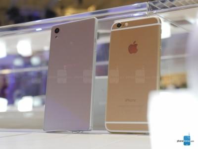 Sony Xperia Z5 vs iPhone 6 9