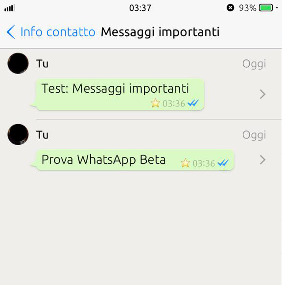 WhatsApp Messenger mesaje importante 1
