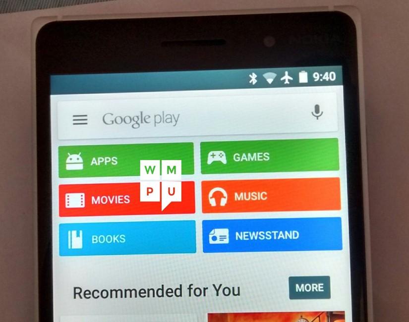 Windows 10 Mobile instalare Android terminale Lumia