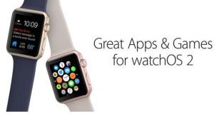 aplicatii si jocuri watchOS 2