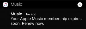 Apple promoveaza prelungirea abonamentelor Apple Music
