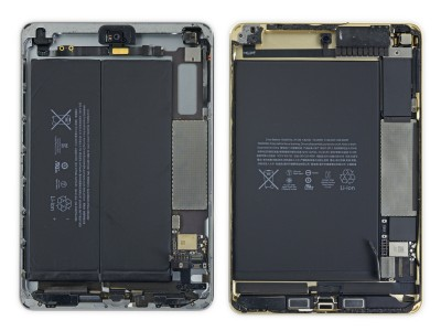 baterie iPad Mini 4 vs iPad Mini 3