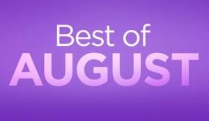 cele mai bune aplicatii ale lunii august