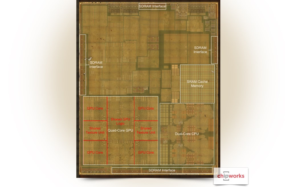 chip A9 iPhone 6S procesor dual-core cache 6 nuclee