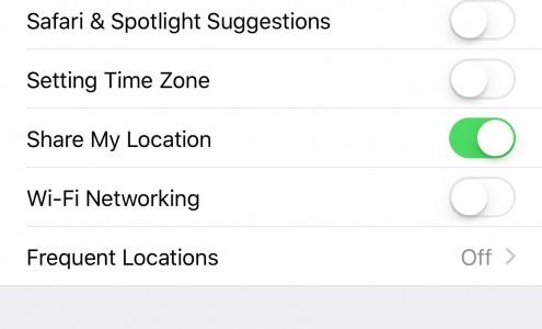 dezactivare WiFi networking iOS 9