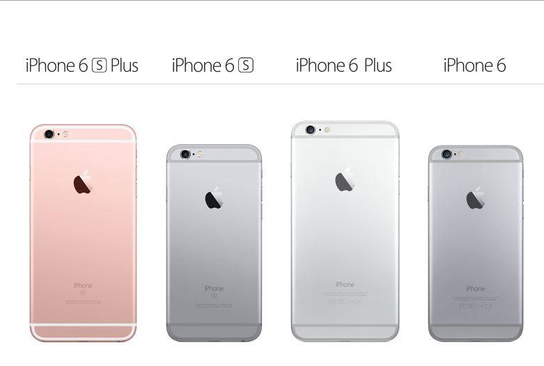diferente iPhone 6S iPhone 6