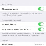 iCloud Music Library activat Romania