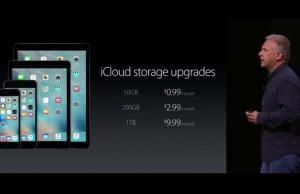 iCloud ieftinire pret