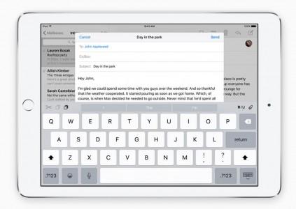 iOS 9 QuickTYpe