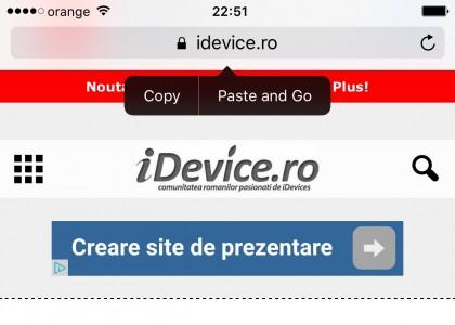 iOS 9 lipire accesare