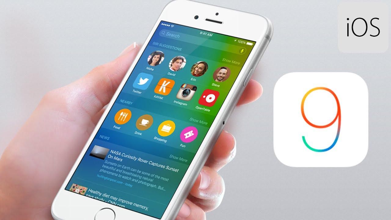 iOS 9 merge greu iPhone iPad