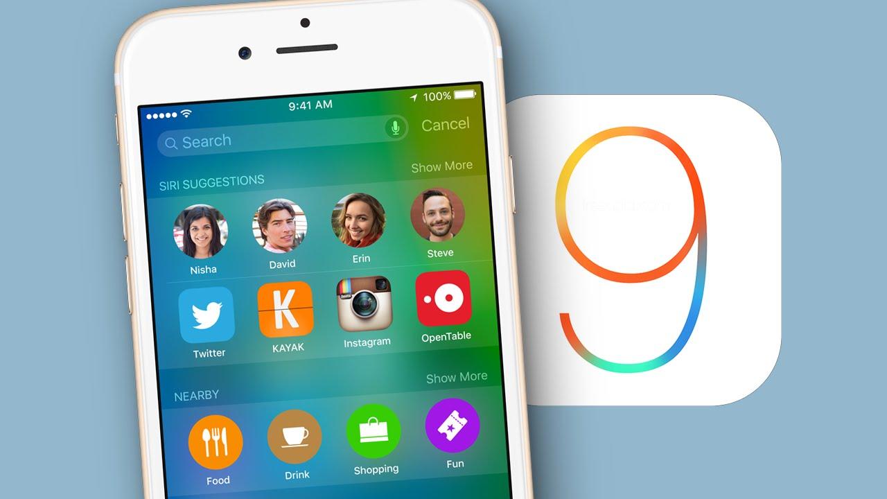iOS 9.0.1 iPhone 6S iphone 6S Plus