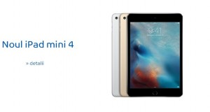 iPad Mini 4 eMAG Romania