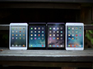 iPad Mini 4 vs tablete iPad design