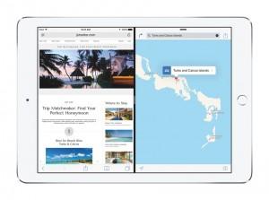 iPad Pro aplicatii acelasi ecran