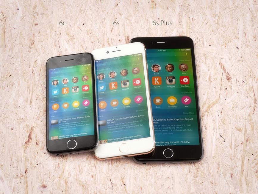 iPhone 6C 6S 6S Plus