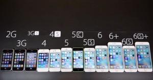 iPhone 6S si iPhone 6S Plus vs restul iPhone