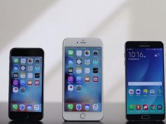 iPhone 6S Plus indoaie mai greu decat Samsung Galaxy Note 5