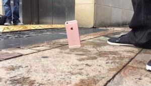 iPhone 6S drop test test rezistenta