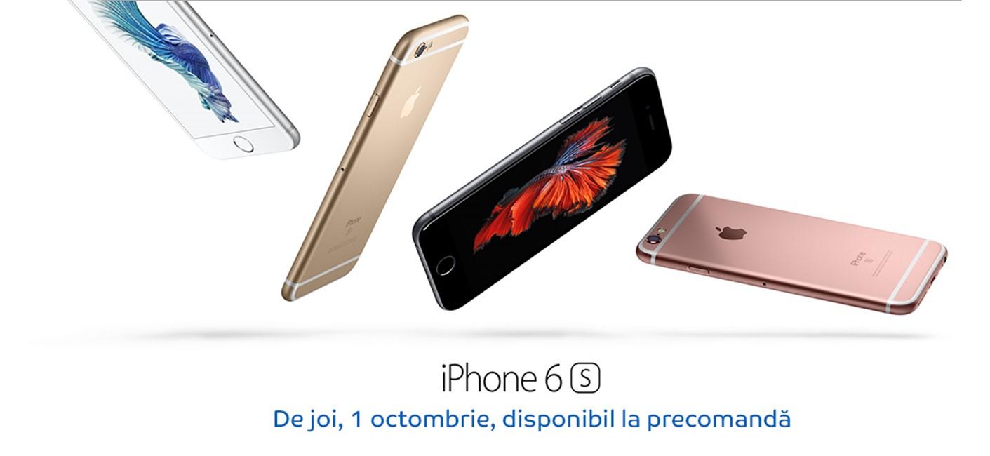iPhone 6S precomanda eMAG