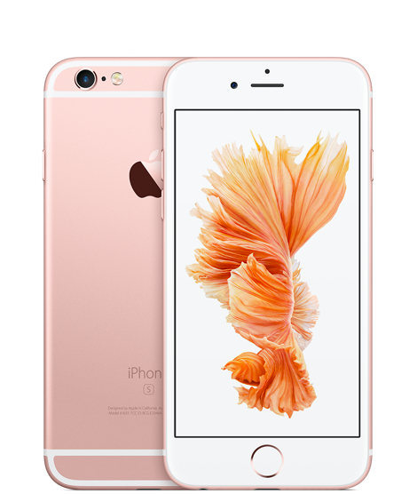 iPhone 6S rose gold 6