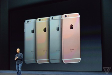 iPhone 6S rose gold Apple
