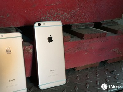 iPhone 6S rose gold poze roz 4
