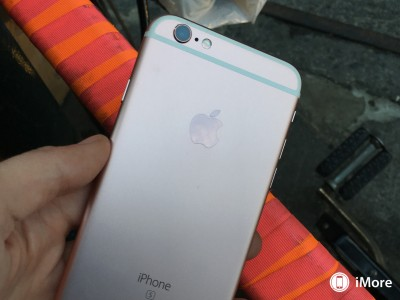 iPhone 6S rose gold poze roz 5