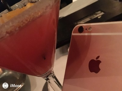 iPhone 6S rose gold poze roz 8
