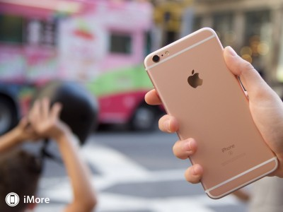 iPhone 6S rose gold poze roz 9