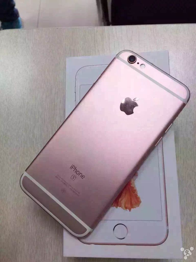 iPhone 6S roz imagini 2