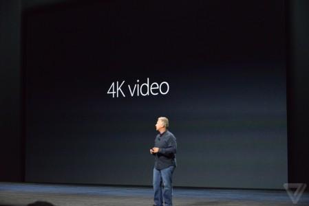 iPhone 6S si iPhone 6S Plus camera 4K 12 megapixeli
