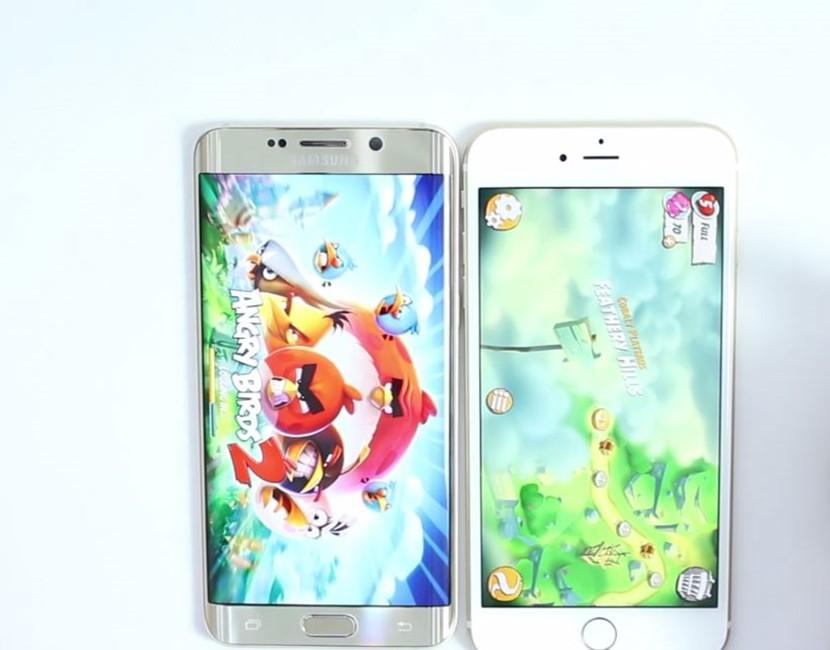 iPhone 6S vs Samsung Galaxy S6 Edge+ test performante