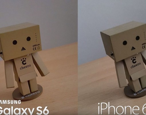 iPhone 6S vs Samsung Galaxy S6 comparatie camere