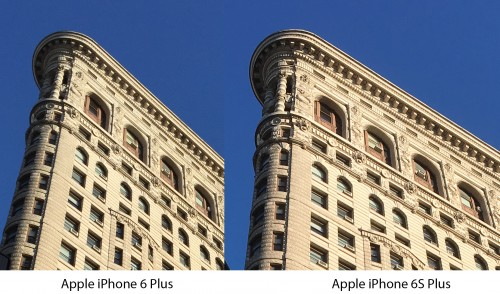 iPhone 6S vs iPhone 6 Plus comparatie camera