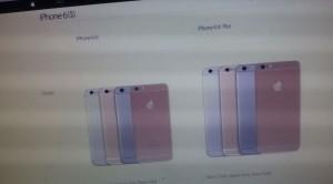 iPhone 6S website Apple