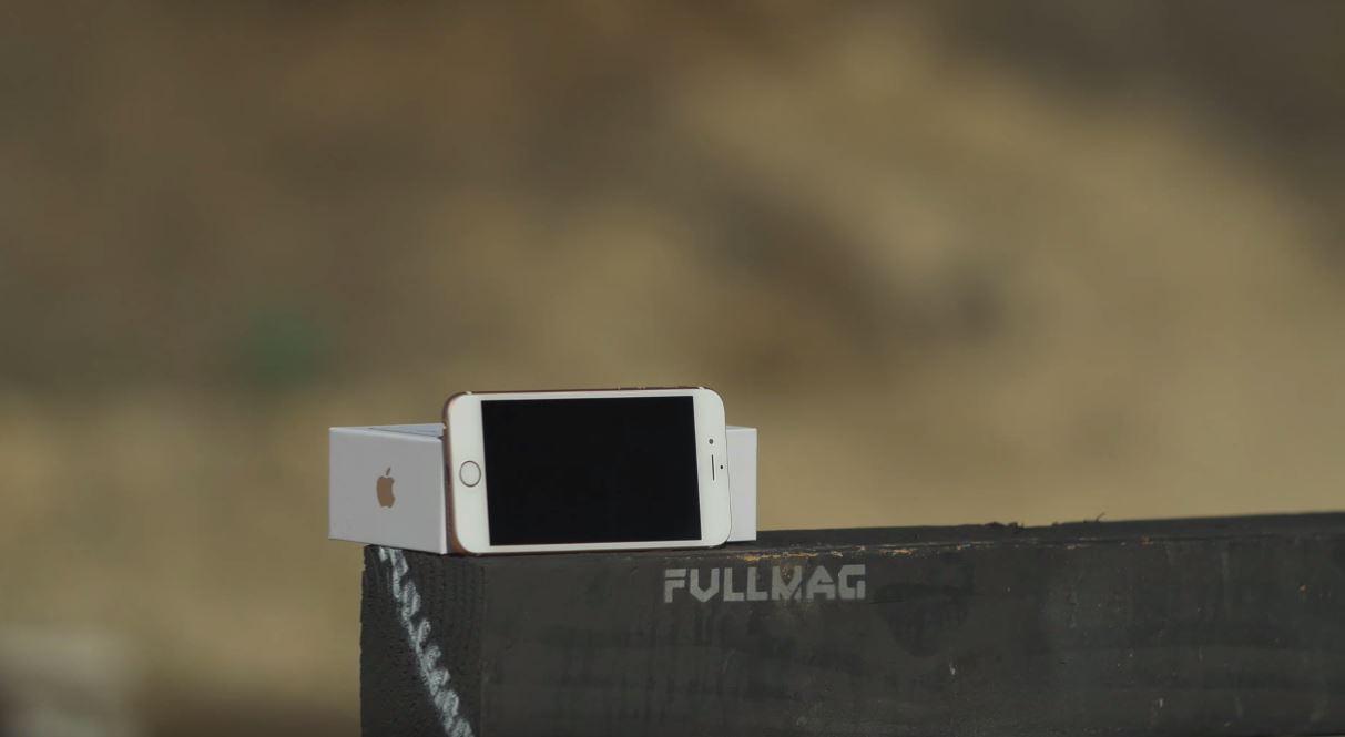 iPhone 6s arma calibrul 50