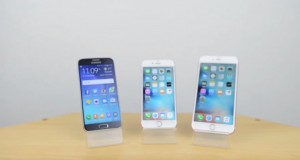 iPhone 6s vs Samsung Galaxy S6 vs iPhone 6s Plus