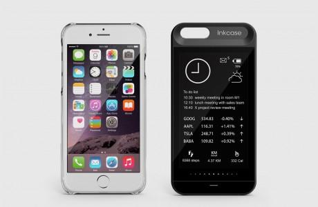inkCase i6 carcasa ecran secundar iPhone 3