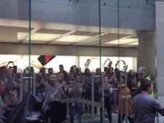 iphone 6s lansare bucurie aplauze