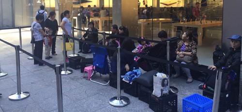 lansarea iPhone 6s cozi Apple Store 5