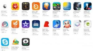popular apps & games