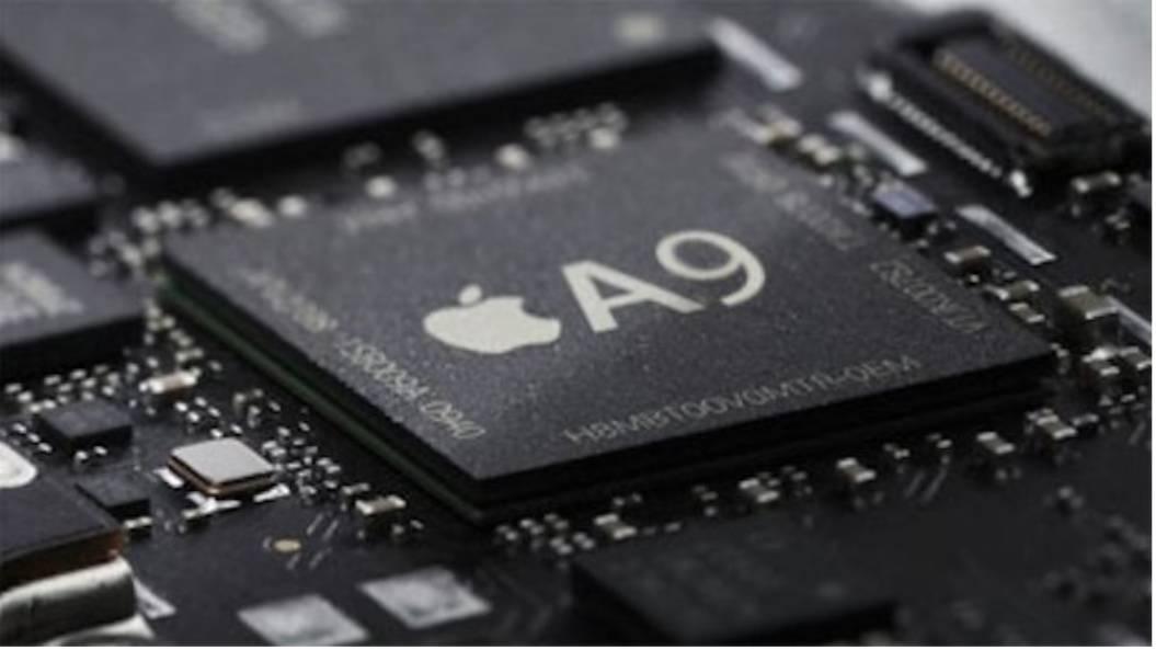 procesor chip A9 iPhone 6S marime diferita 1