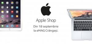 reduceri eMAG Apple Shop